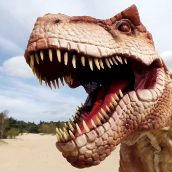 dino experience liveshow t-rex 2